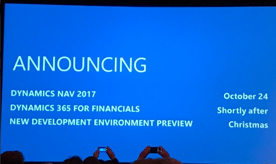 TharangaC: Microsoft Dynamics NAV 2017 - Release Date and