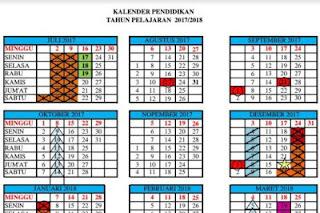 Kalender Pendidikan 2017/2018