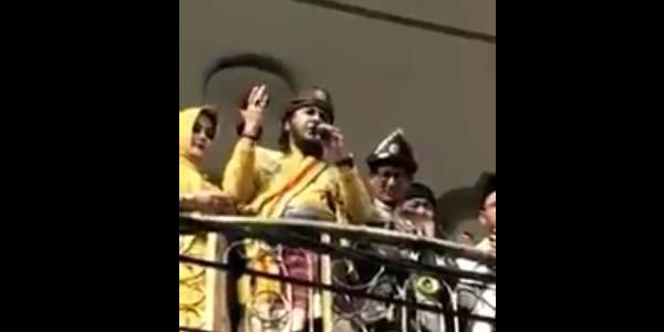 Video Sultan Palembang Doakan Prabowo-Sandi Viral