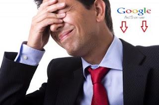 إنخفاض أرباح جوجل أدسنس