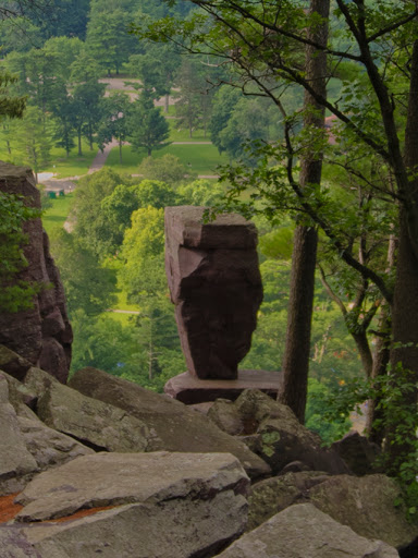 Balanced Rock, Balanced Rock Trail - Devil's Lake - Baraboo WI