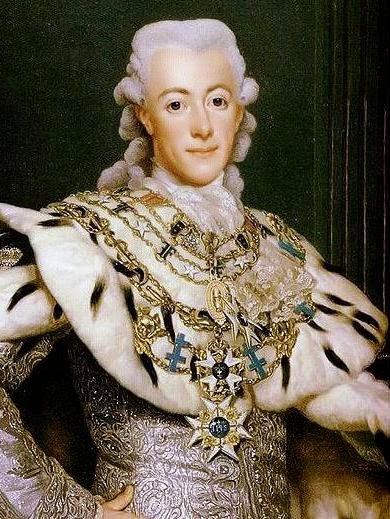 King Gustav III by Alexander Roslin, 1777