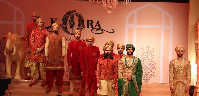 Models at KORA Wedding Collection launch (1)
