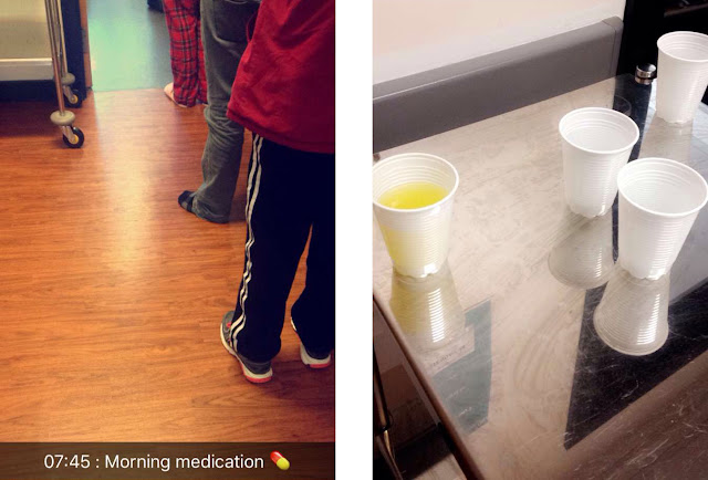 Day in the Life - Psychiatric Inpatient - medication queue