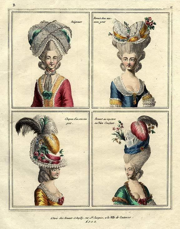 Blah Since I Know: On the European Hair of the 18th Century