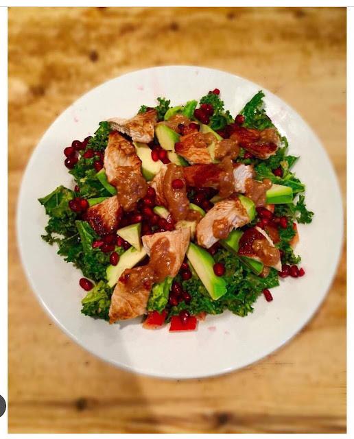 Turkey Kale Salad