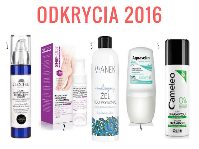 Moje odkrycia kosmetyczne 2016 roku