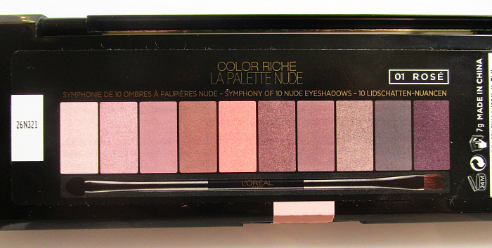 L´Oréal Paris Color Riche La Palette Nude Rosé 14.99 Nuancen