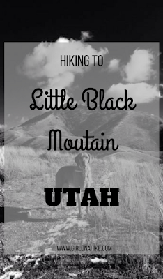 Hiking to Little Black Mountain, Utah, Hiking in Utah with Dogs