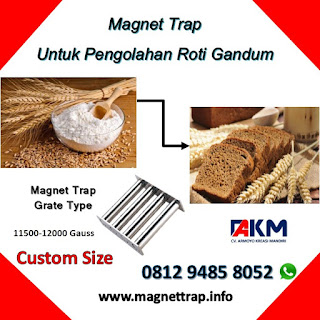 magnet trap type grate