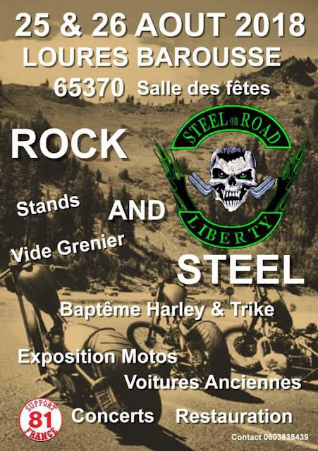 ROCK AND STEEL Hautes Pyrénées 2018