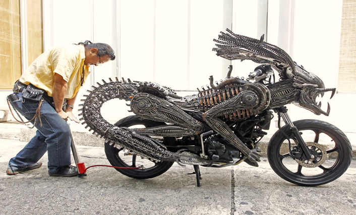 5 Crazy Bikes In The World In Hindi