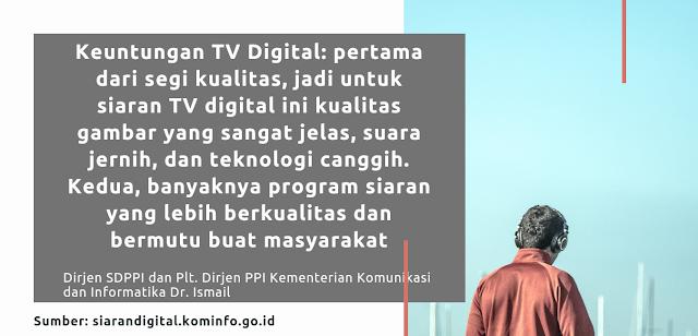 Manfaat TV digital