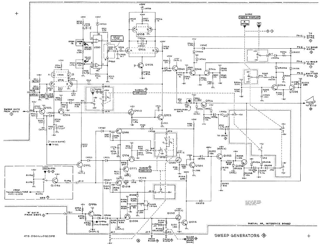 Sweep Signal Generator Schematics