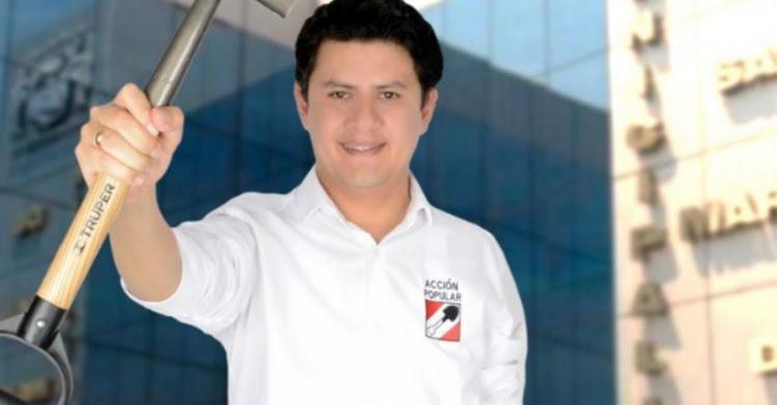ONPE: Julio Chávez es el nuevo alcalde de San Martín de Porres - www.onpe.gob.pe