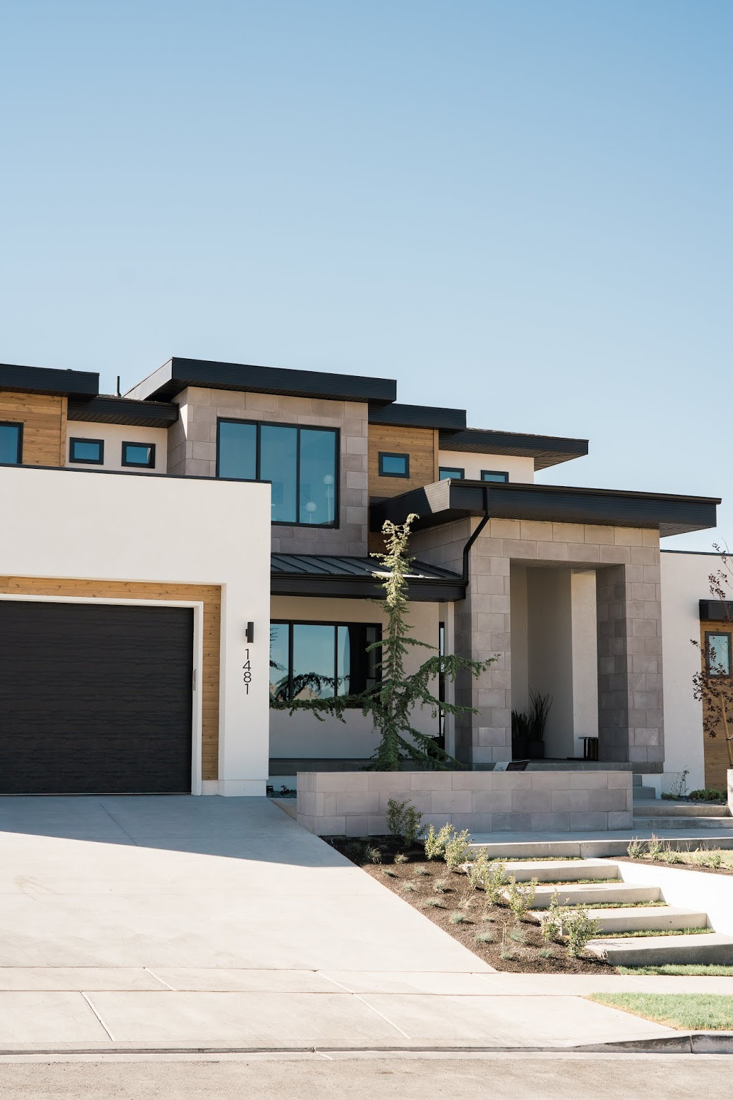 Modern Home, Industrial Home, Modern Utah Home