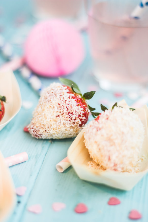 Rezept mit Erdbeeren