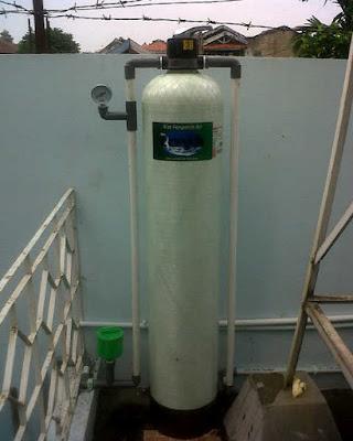 filter air sumur rumah tangga sederhana
