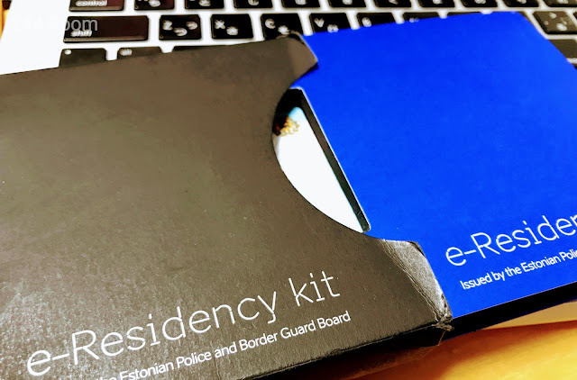 e-Residency kit by Estonia
