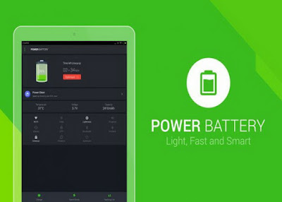 BATTERY SAVER APPLICATION ANDROID PHONES – POWER BATTERY