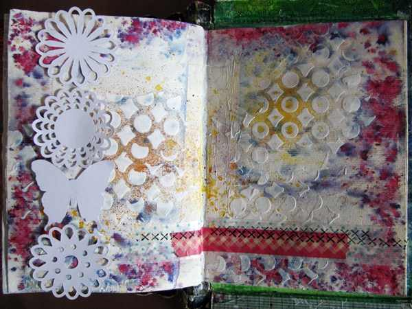 Mixed Media Montag | Tutorial Art Journal Seite | Dekoration