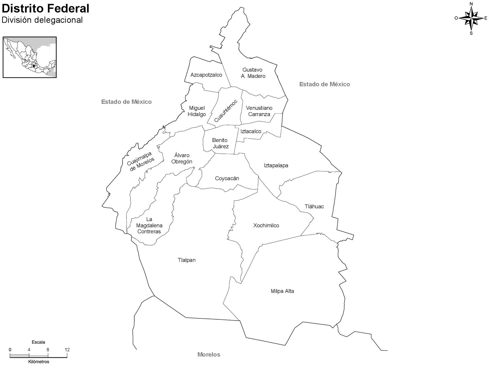 Mapas Para Imprimir De Los Municipios De Todas Las Entidades