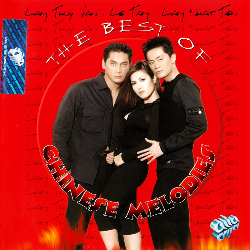 AsiaCD129 - The Best Of Chinese Melodies (NRG) + bìa scan mới