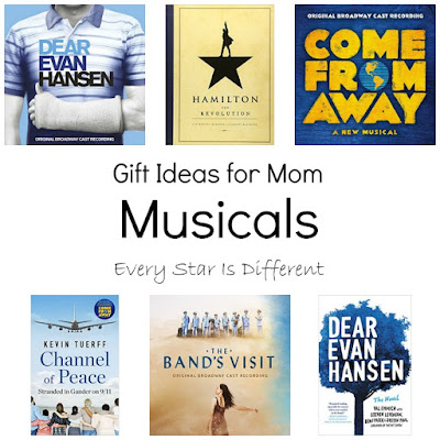 Gift Ideas for Mom-Musicals
