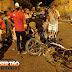 Duas pessoas ficam feridas em acidente com motos no Centro de Sousa