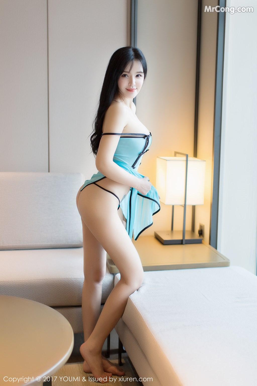 Image YouMi-No.067-Liu-Yu-Er-MrCong.com-034 in post YouMi No.067: Người mẫu Liu Yu Er (刘钰儿) (45 ảnh)
