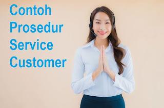 Contoh Prosedur Service Customer