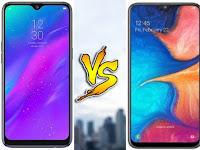 Kupas Tuntas Perbandingan Samsung Galaxy A20 VS Realme 3, Beserta Harga dan Spesifikasinya