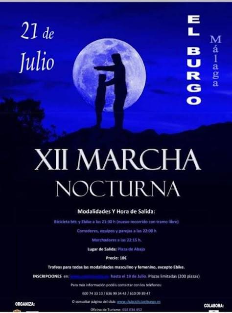 Marcha Nocturna El Burgo 2018