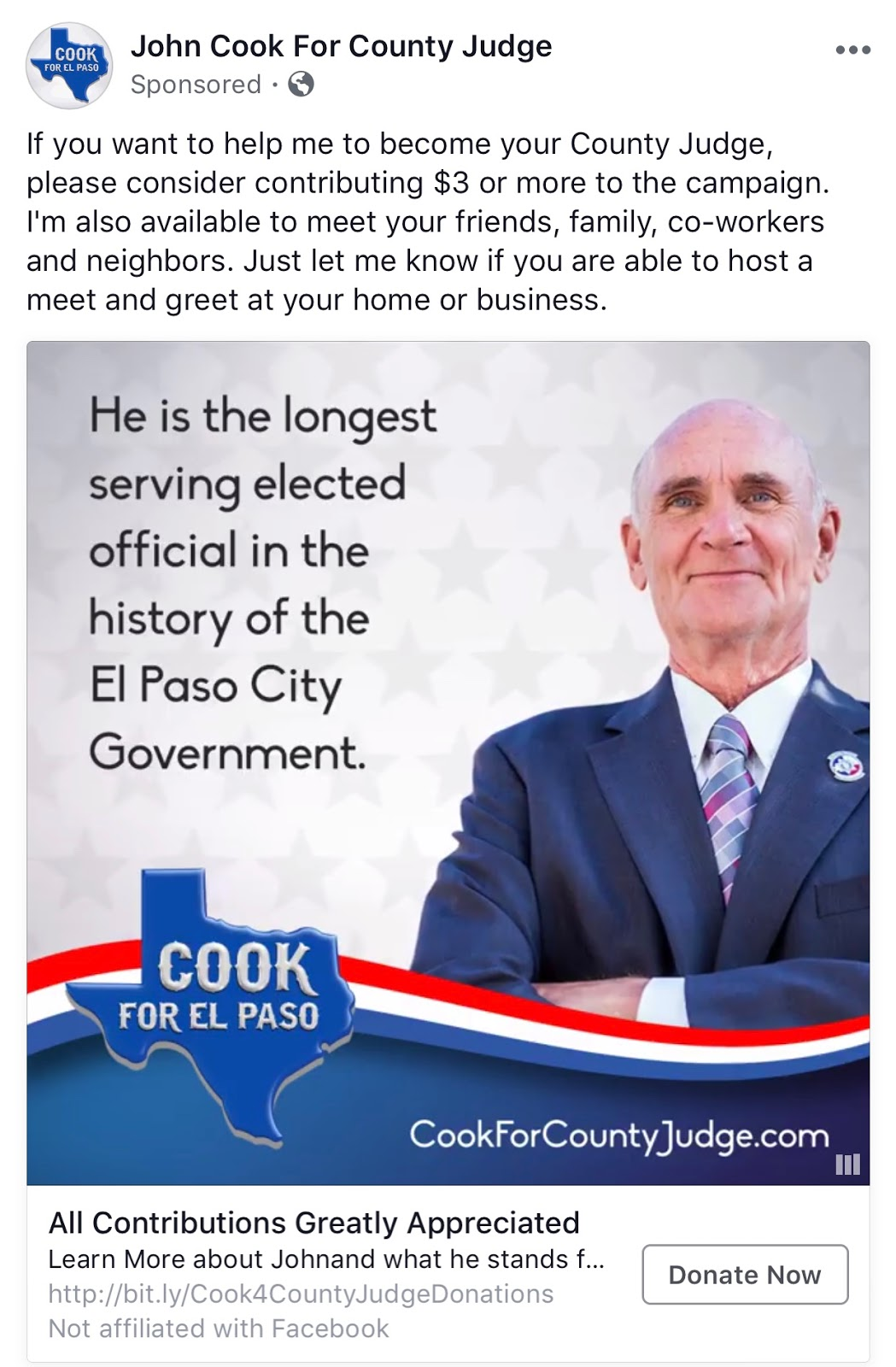 The lion star blog by jaime abeytia the county judge race if you have seen his social media sponsored ad he actually highlights it as though its an asset voters hate career politicians m4hsunfo