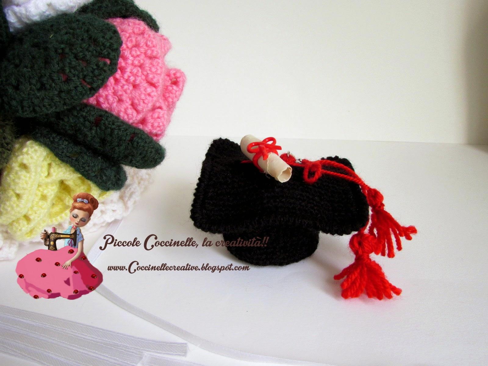 Cappello Laurea per confettata 9fe8cd973709