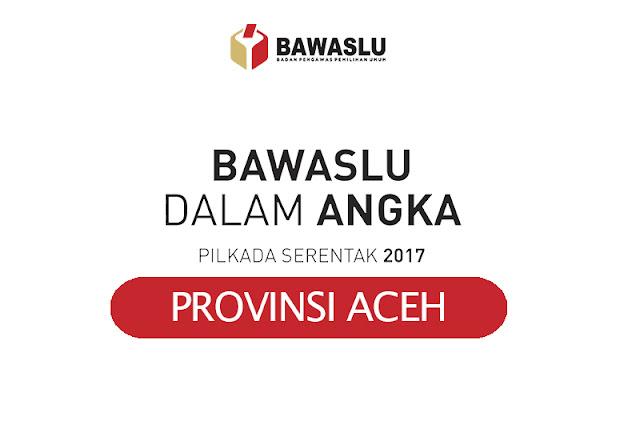 Bawaslu Dalam Angka Provinsi Aceh - Pilkada 2017