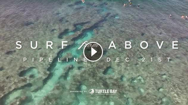 Surf From Above Drone Footage of Pipeline