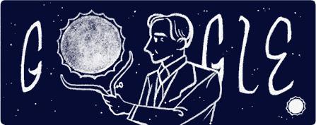 Google doodle S Chandrasekhar