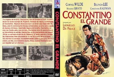 Carátula, cover, dvd: Constantino El Grande | 1962 | Costantino il grande