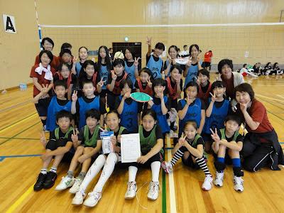 調和SHC倶楽部だより: 小学生ソフトバレーボール大活躍!! 調和SH...  小学生ソフトバレ
