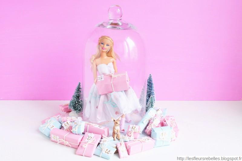Calendrier Avent Barbie.Tutoriel Comment Faire Un Calendrier De L Avent Barbie Diy