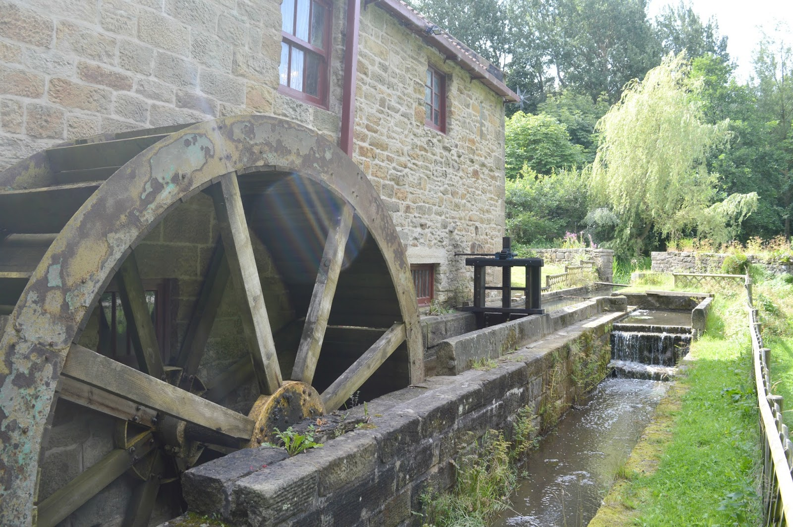 Gateshead's Great Outdoors - Path Head Water Mill Blaydon