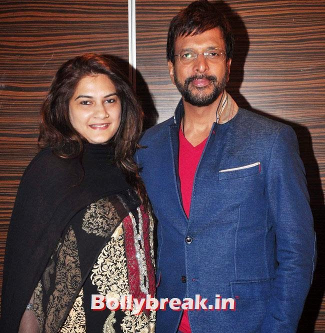 Javed Jaffrey with wife Habiba, Sasha Agha, Alka Verma at Movie 'Unforgettable' First Look Launch