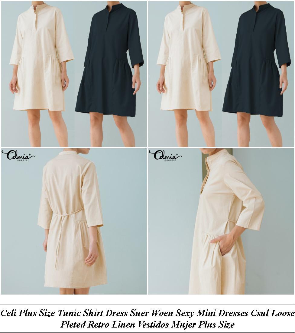 Womens Clothing Dresses - Next Summer Sale - Shirt Dress - Cheap Summer Clothes