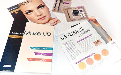Aclaraciones sobre la colección Make Up : Entregas 12 , 13 y archivador