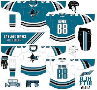 AJH Hockey Jersey Art