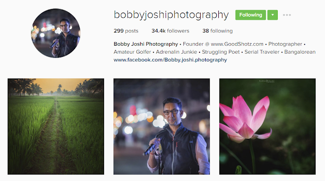 Follow @bobbyjoshiphotography on Instagram