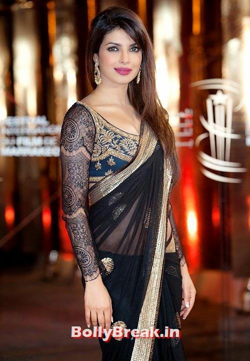 Priyanka Chopra in lace dress, Pics of Bollywood Actresses in Lace Dresses - who looks the Hottest?