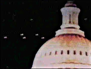 UFO Over Capitol - Washington, D.C. - July, 1952