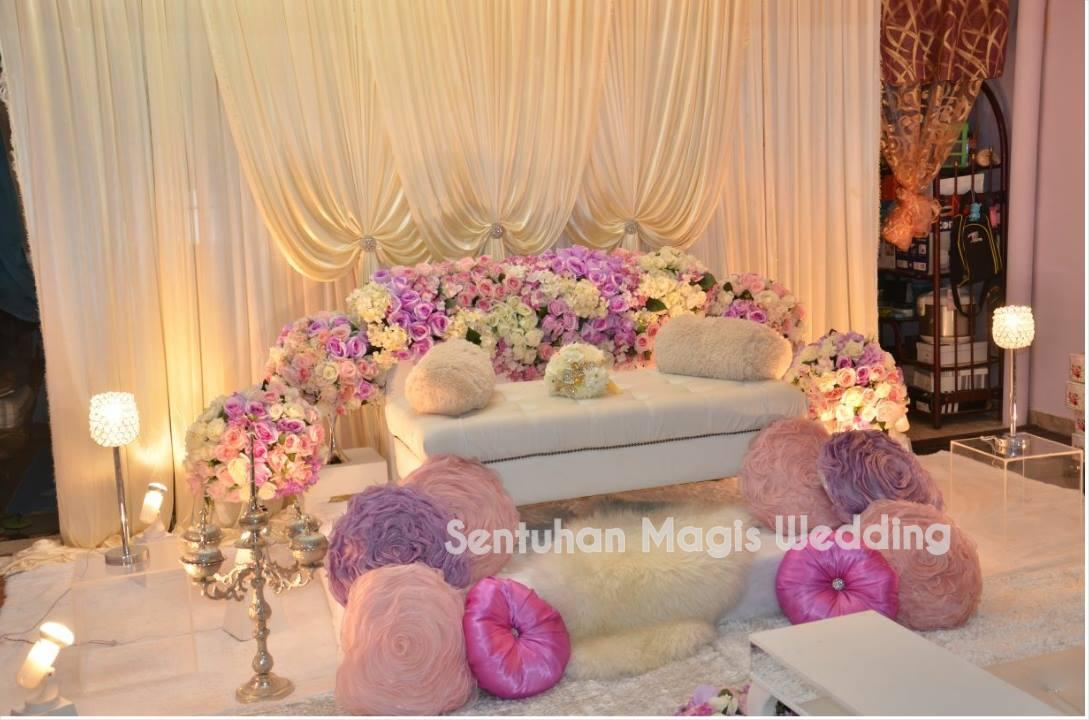 SM WEDDING AND DECOR: Pelamin Nikah By SM Wedding & Decor